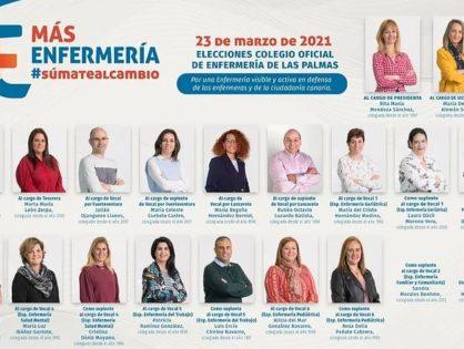 Rita Mendoza, proclamada nueva presidenta del Colegio de Enfermería de Las Palmas