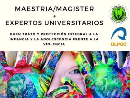 """Éxito tras el acto inaugural del Máster universitario """"Buen trato y Protección integral de la Violencia contra la infancia y la adolescencia"""""""